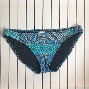 Mossimo Swimsuit Bottoms Small Aztec NWOT